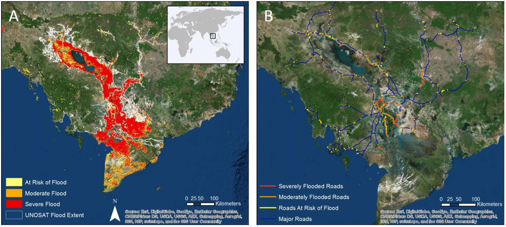 utilization of remote sensing for river Malacca river water quality is affected due to rapid urbanization  specifically,  remote sensing has been widely used to classify and map.